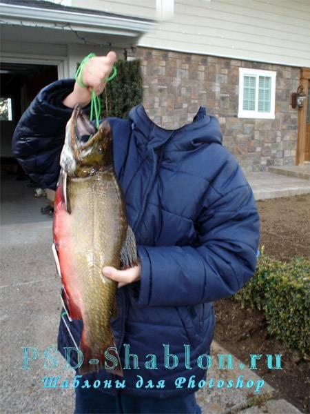 PSD костюм Рыбак