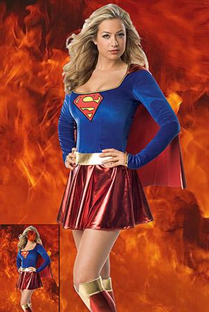 Женский шаблон - Женщина-супергерой