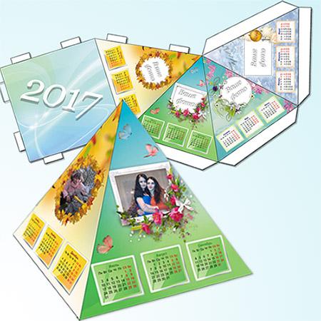 Настольный календарь - 4 сезона года