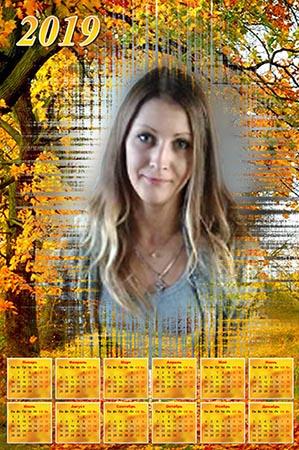 Настенный календарь на 2019 год - Осень золотая