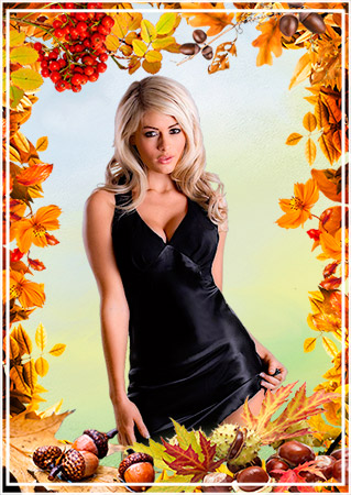 Осенняя рамка - Краски осени